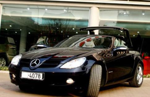 Mercedes SLK R171 - dòng dõi thế gia