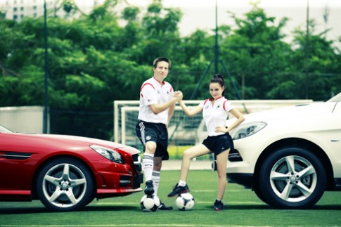 Mercedes uu dai 'khung' neu Duc vo dich Euro