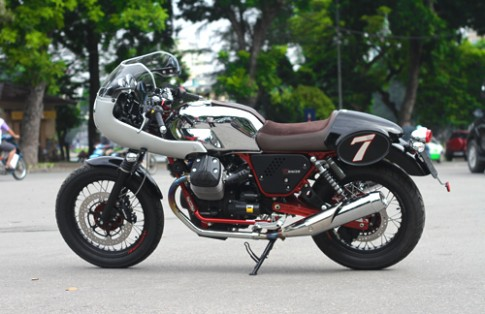 Moto Guzzi V7 Racer - chat dan ong cho nguoi Viet