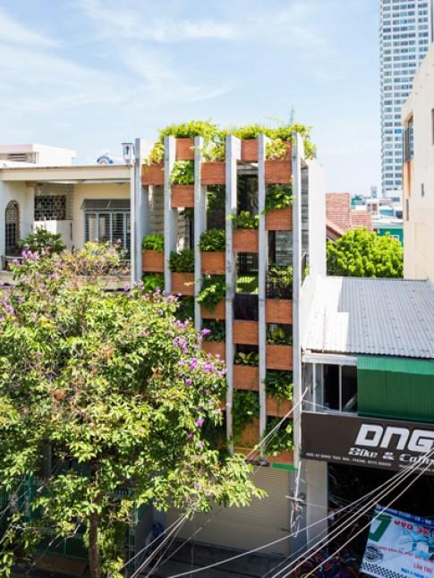 Ngôi nhà ống như resort ở Đà Nẵng