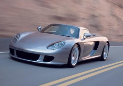 Porsche ngung san xuat Carrera GT