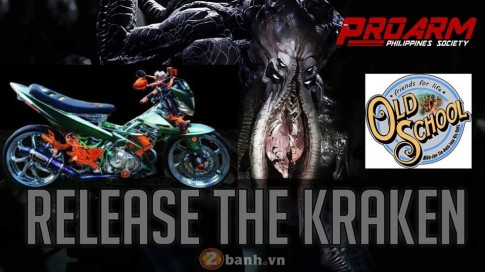 Raider 150 Kraken - quai vat day mau sac