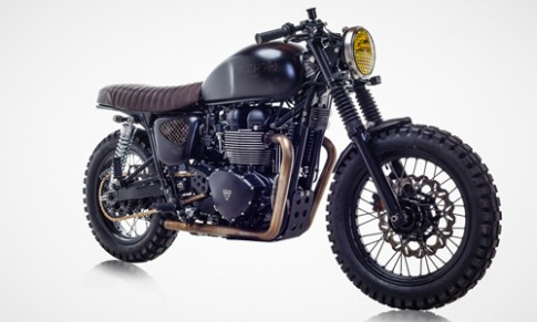 Triumph Bonneville T100 - ban do David Beckham