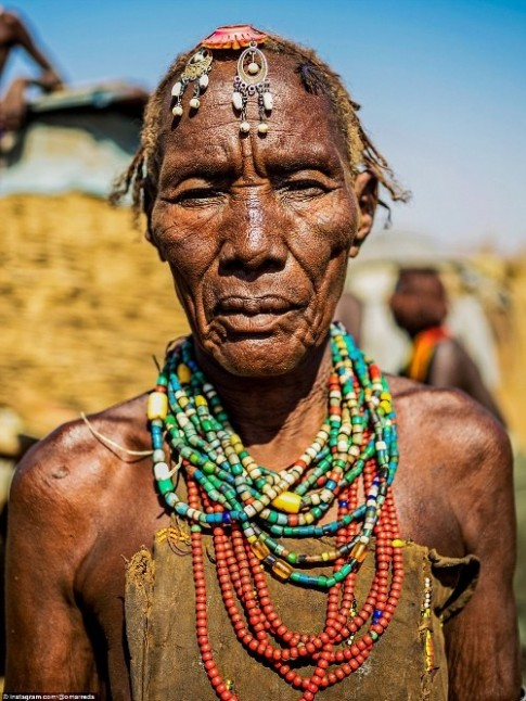 Ba bo toc lam dep ky quai o Ethiopia