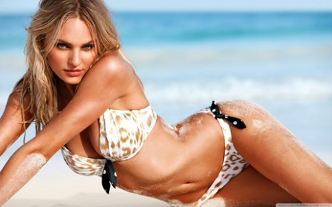 Candice Swanepoel - sieu mau hang dau ve do goi cam