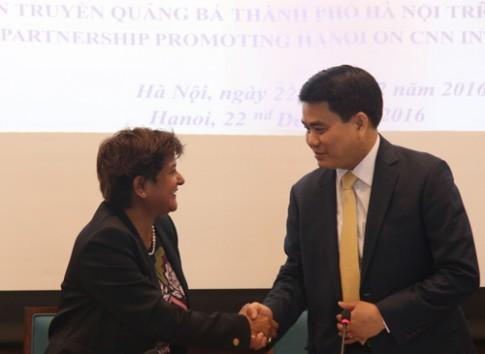 Chi 2 trieu USD, Ha Noi len song CNN trong 2 nam