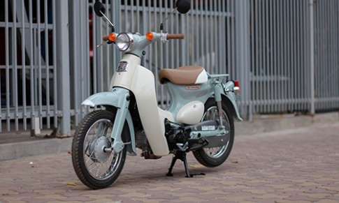 Chi tiet Honda Little Cub 50 2017