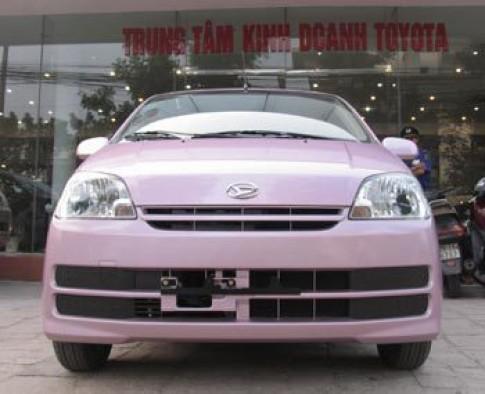 Daihatsu Charade cạnh tranh thị phần xe hạng nhỏ