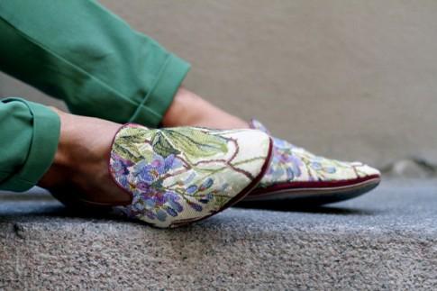 Giày nam họa tiết hoa lá đẹp hè 2017 xu hướng thời trang năm nay
