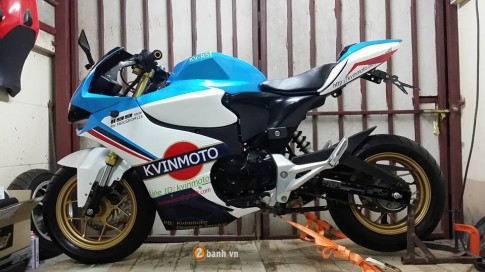 Honda MSX day an tuong voi man lot xac thanh Ducati 1199