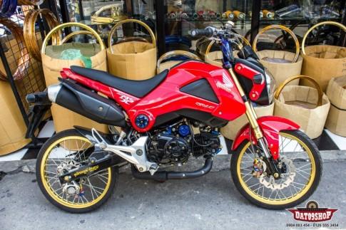Honda MSX dọn phong cách đầy chất chơi của biker Thái