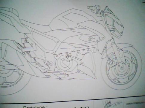 Kawasaki co the trinh lang naked bike moi
