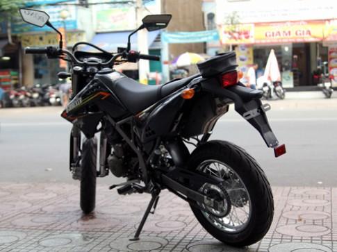 Kawasaki D-Tracker 125 - cao cao co nho cho Viet Nam