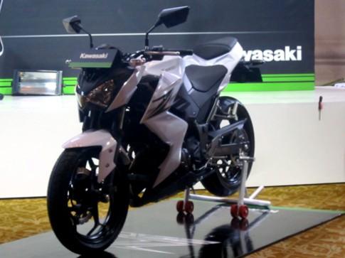 Kawasaki trinh lang Z250 2013