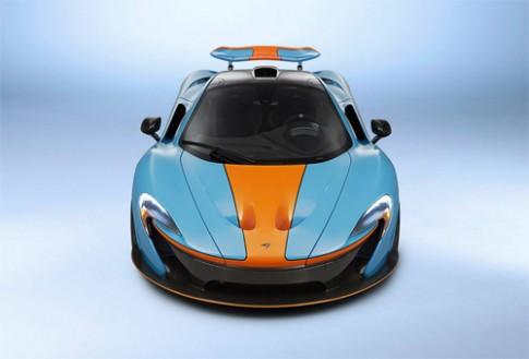 McLaren P1 tong mau Gulf Oil