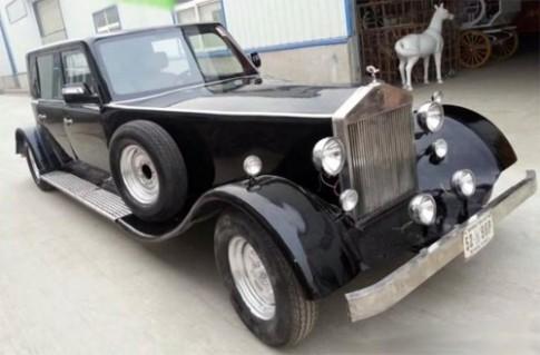 Oto dien Trung Quoc nhai Rolls-Royce