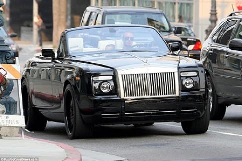 Phantom Drophead Coupe cua David Beckham