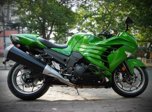 Sieu moto Kawasaki Ninja ZX-14R 2012 ve Viet Nam
