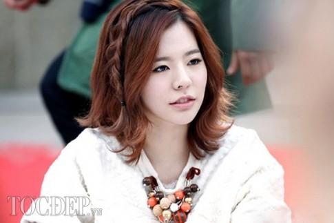 12 kiểu tóc tết mái đẹp 2017 sao Hàn Quốc không thể thiếu