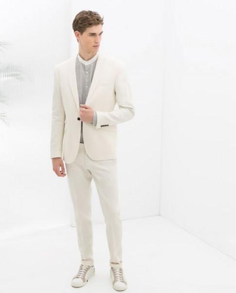 12 mẫu áo vest nam công sở thương hiệu Zara đẹp 2017 phong cách hiện đại