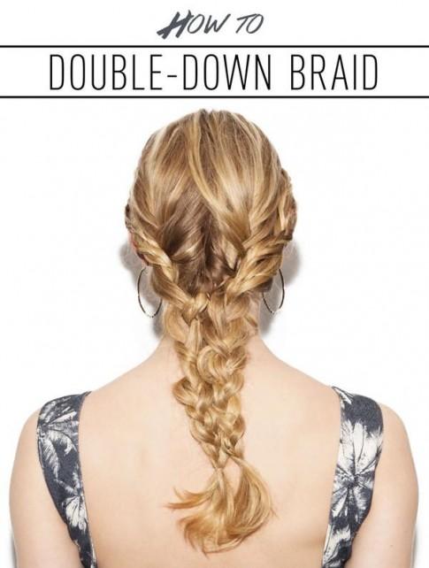 3 cách tết mái tóc phồng tự nhiện đẹp cô nàng tóc mỏng hè 2017