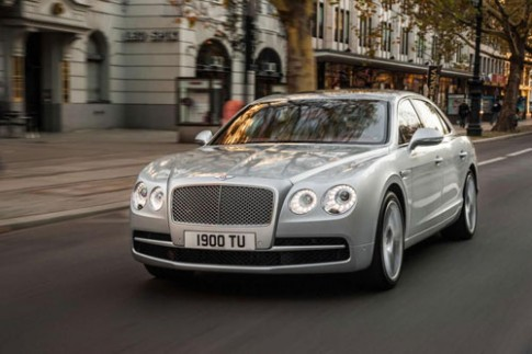 Bentley Flying Spur them tuy chon dong co V8 moi