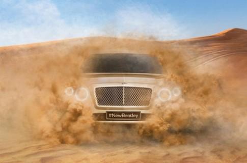 Bentley lo anh phien ban san xuat SUV