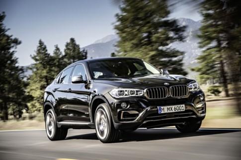 BMW X6 2015 có giá từ 60.600 USD