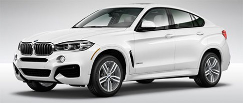 BMW X6 phiên bản mới giá từ 61.900 USD tại Mỹ