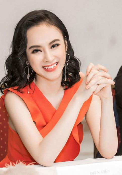Chi Pu, Angela Phuong Trinh trang diẻm tuoi trẻ vói son cam