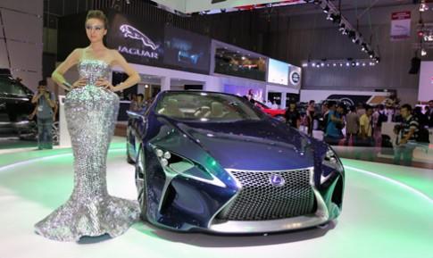 Concept sieu xe Lexus LF-LC den Viet Nam