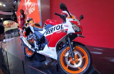 Honda CBR150R danh cho tin do MotoGP