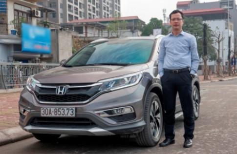 Honda CR-V dưới con mắt khách hàng đang sử dụng