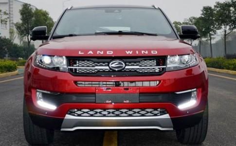 Landwind X7 - ban sao cua Range Rover Evoque