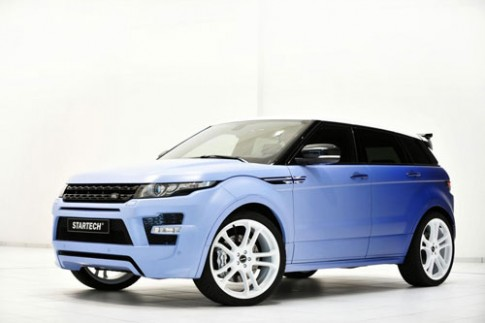 Range Rover Evoque LPG - SUV hang sang chay khi hoa long
