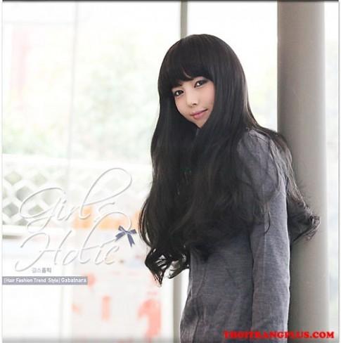 Tóc dài uốn xoăn lọn nhỏ đẹp Hàn Quốc xu hướng đang hot 2017 bạn trẻ