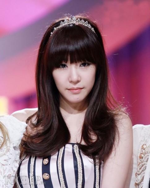 Top 3 kiểu tóc mái bằng tuyệt đẹp 2017 sao Hàn Quốc khuôn mặt dài