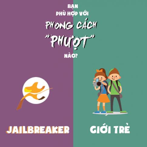 Bo anh vui giai dap nhung khac biet trong phong cach phuot cua cong dong Jailbreaker (phuot 0 dong)