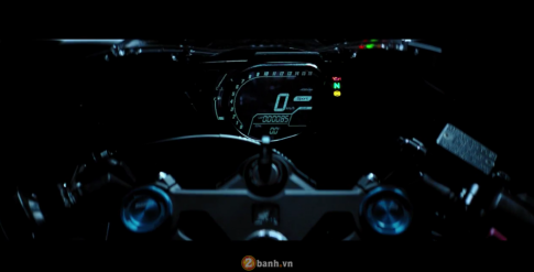 [Clip] Chi tiet cac chuc nang tren dong ho full LCD cua Honda CBR250RR 2017