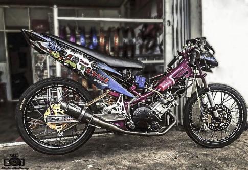 Exciter drag của 1 biker Gia Lai