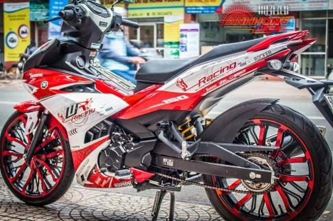 Hang doc Yamaha Exciter 150 Red Racing tu Anh Hong Decal