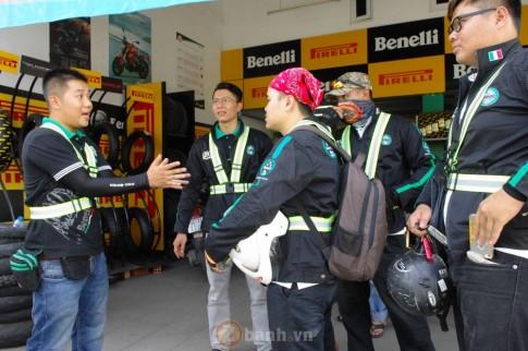 Hoi Benelli tu hop de chao don 4 biker vua xuyen Viet an toan sau hon 3000 km