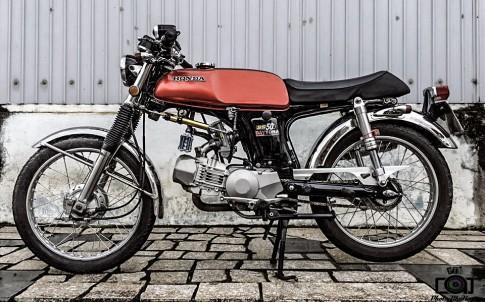 Honda 67 độ cực chất với bộ máy 190cc