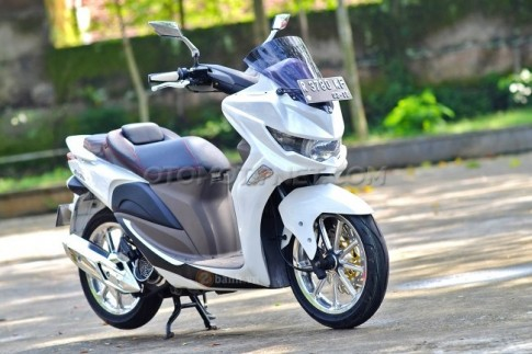 Honda Vision do doc theo phong cach PCX