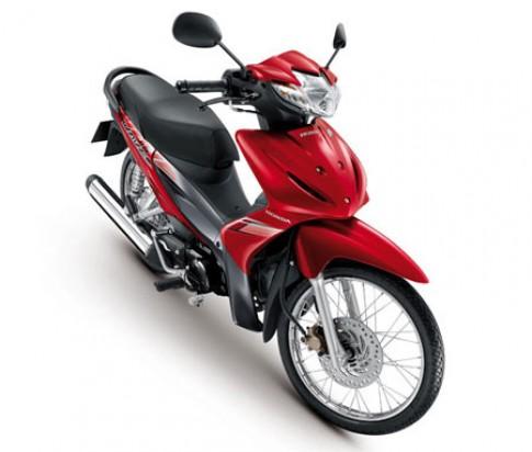Honda Wave 110i an khach nhat tai Thai Lan