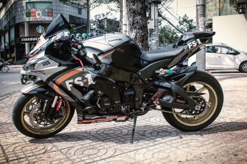 Kawasaki Ninja ZX-10R 2016 do sieu khung cua biker Sai Thanh