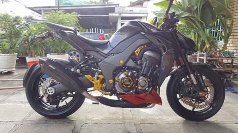 Kawasaki Z1000 hàng trưng bày cực cool