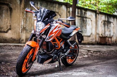 KTM Duke 390 do day phong cach cua biker Sai Thanh