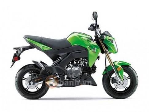 Lo anh Kawasaki Z125 phien ban My voi nhieu khac biet