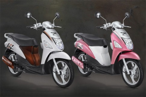 Suzuki trinh lang scooter moi